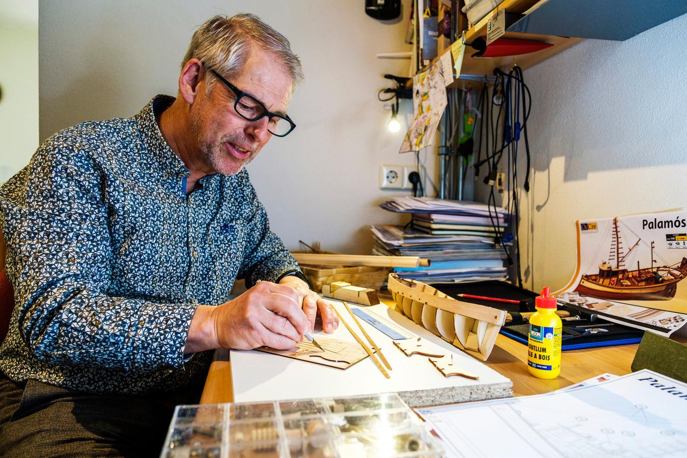 Modelbouw als hobby: door de lockdown wordt het alsmaar populairder. © Marlies Wessels